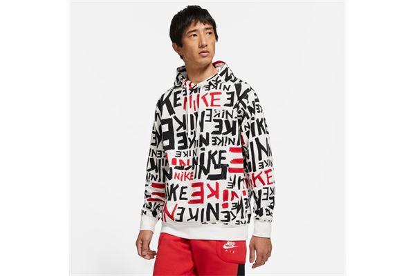 Felpa Nike Sportswear Club Allover Print NIKE SG | 92 | DA0061657