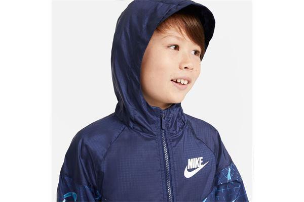 Giubbino da bambino/ragazzo Nike Sportswear Windrunner RTLP NIKE SG | 391095581 | DA0758492