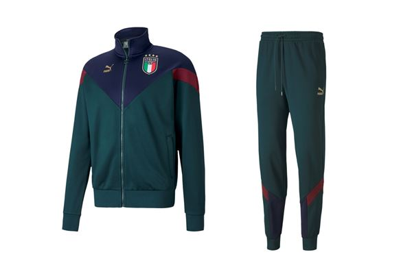Tuta Italia Iconic MCS Puma 2020 PUMA | 270000020 | 756659002