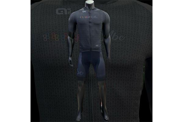 Completo da Ciclismo Alè ABC Chain Nero ABC ANACLERICO SPORT BYKE CLUB | 270000035 | CHAINSSBLACK