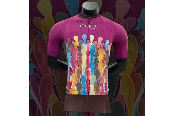 Completo da Ciclismo Alè ABC Chain Purple ABC ANACLERICO SPORT BYKE CLUB | 270000035 | CHAINSSPURPLE