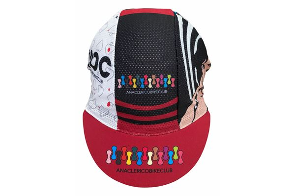 Cycling Cap ABC Anaclerico Sports FEMMN BELL ABC ANACLERICO SPORT BYKE CLUB | 270000046 | FEMMNBELL2021-