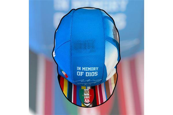 Cappello da Ciclismo ABC Anaclerico Sport Bike Club D10S - In bici per la T.I.N. ABC ANACLERICO SPORT BYKE CLUB | 270000046 | MARADONACAP-