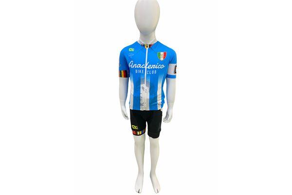 Completo da Ciclismo per bambini ABC Anaclerico Sport Bike Club D10S - In bici per la T.I.N. ABC ANACLERICO SPORT BYKE CLUB | 270000035 | MARADONAKIDALECOMPLETO-