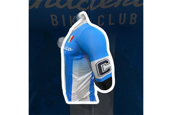 Completo da Ciclismo ABC Anaclerico Sport Bike Club D10S - In bici per la T.I.N. by Pissei ABC ANACLERICO SPORT BYKE CLUB | 270000035 | MARADONAPISSEICOMPLETO-