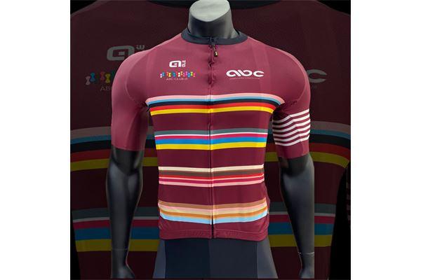 Completo da Ciclismo ABC Granata Stripes 21 Ale