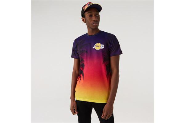 Maglia LA Lakers Summer City Allover Print New Era NEW ERA | -89515098 | 11569521AOP