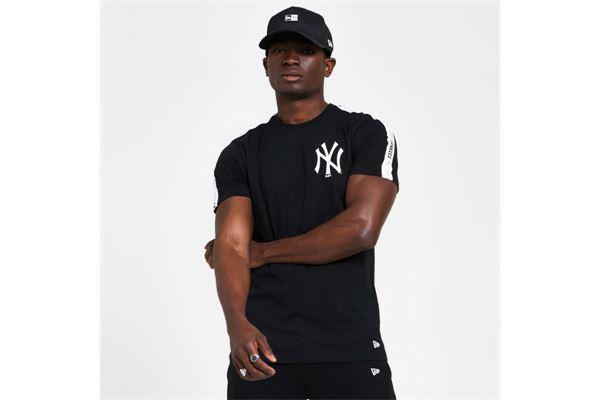 Maglie New York Yankees Taping NEW ERA | -89515098 | 12369821BLKWHI