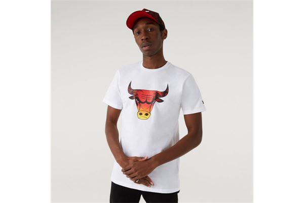 Maglia Chicago Bulls New Era NEW ERA | -89515098 | 12720094WHI
