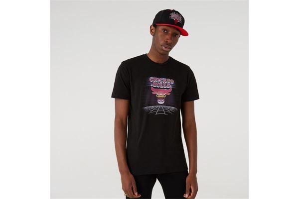 Maglia Chicago Bulls Futuristic Graphic New Era NEW ERA | -89515098 | 12720131BLK