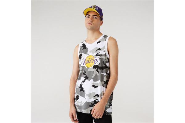 Canotta LA Lakers Camo Print New Era NEW ERA | 681207635 | 12720138URC