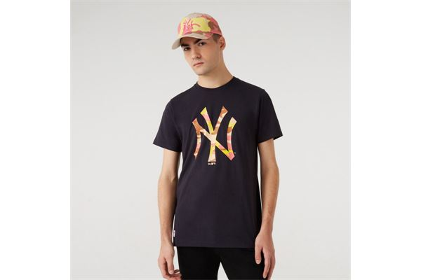 Maglia New York Yankees Camo Logo New Era NEW ERA | -89515098 | 12720165NVYXCM