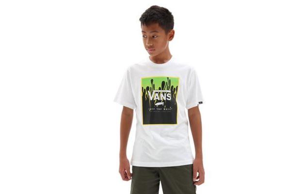 T-Shirt Vans Print Box da Bambino/Ragazzo VANS | -89515098 | VN0A318NZ601