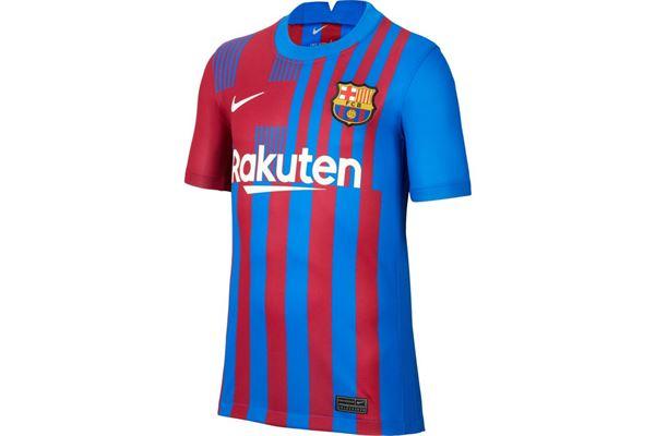 Maglia da bambino/ragazzo Barcelona Stadium Home 2021/22 Nike NIKE PERFORMANCE | 270000021 | CV8222428