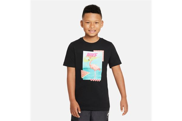 Maglia da bambino/ragazzo Nike Sportswear Beach Flamingo NIKE SG | -89515098 | DJ3804010