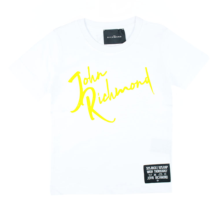 t shirt richmond RICHMOND | T shirt | RBP21096TSUN