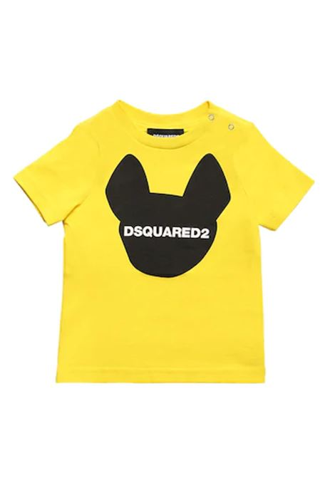 shirt gialla DSQUARED | Shirt | DQ 04D4UN