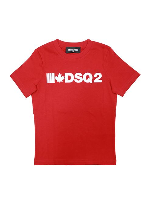 shirt rossa DSQUARED 2 | Shirt | DQ 46YUN