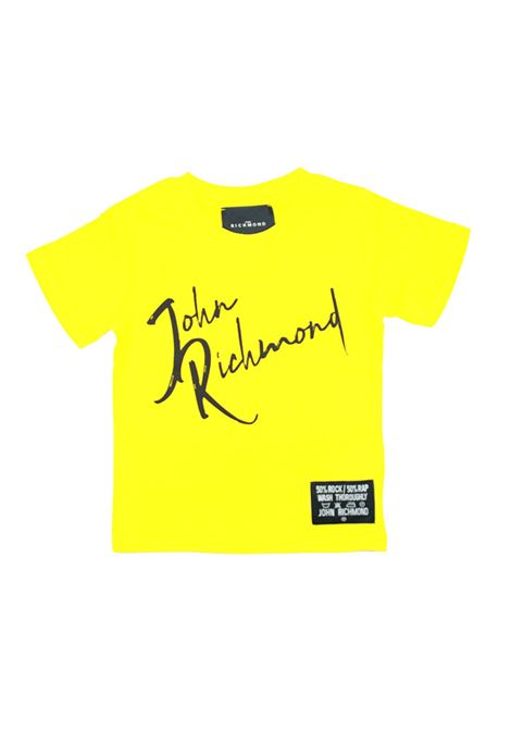 t shirt richmond RICHMOND | T shirt | RBP21096TSUNI