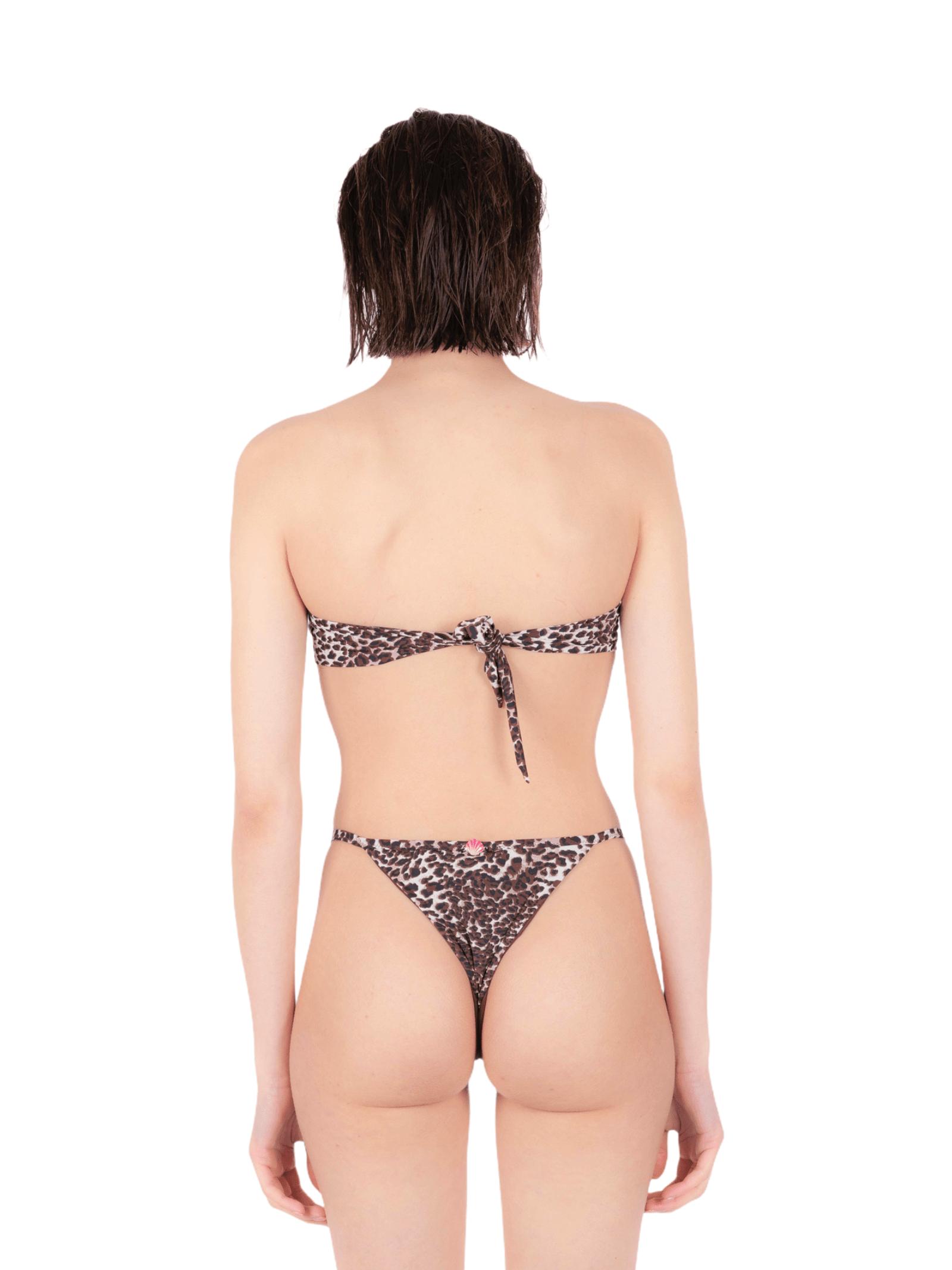 Bikini fascia con slip leopardo ANNAMARE | 23 | BK-101MARRONE