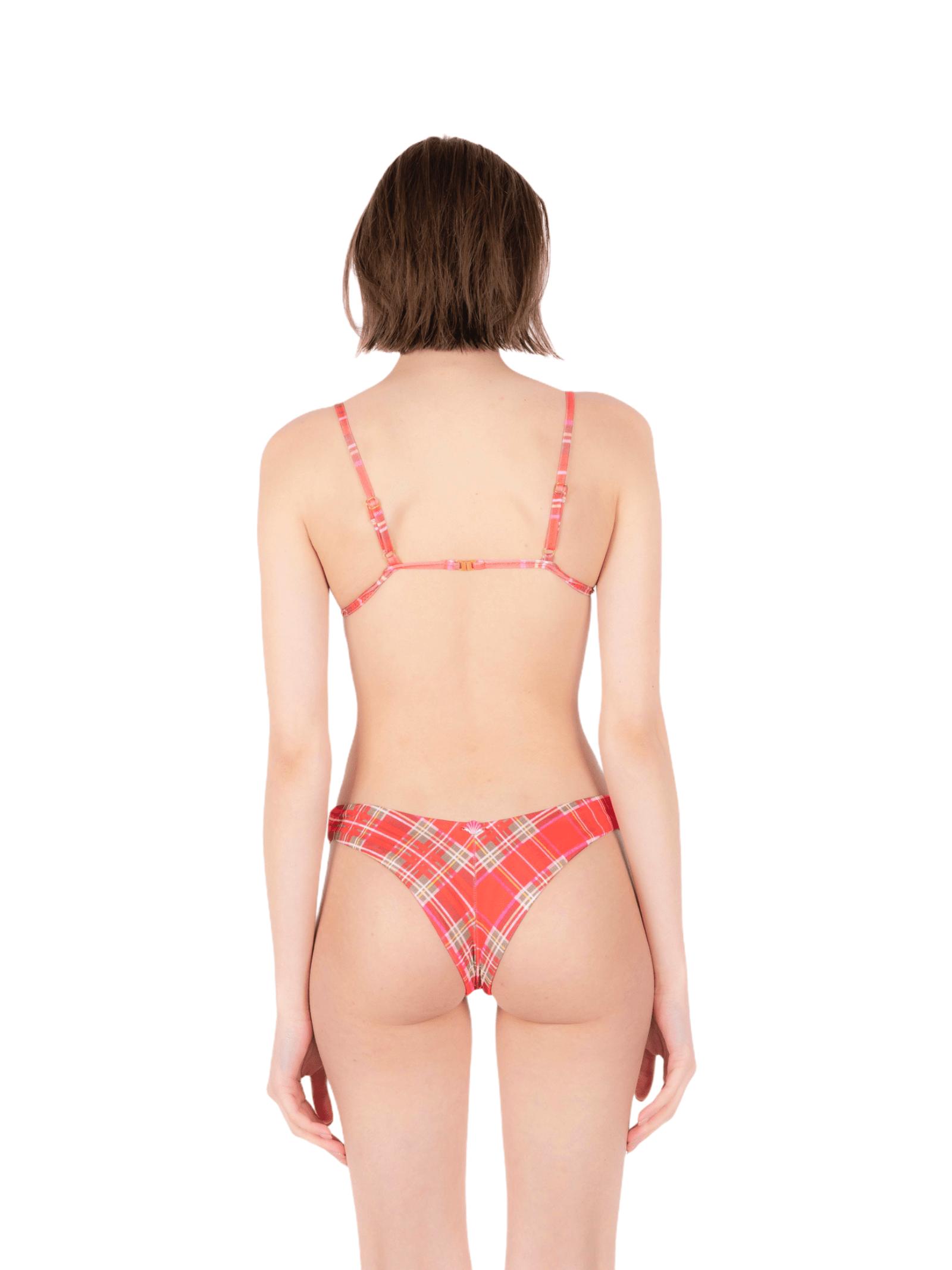 Bikini triangolo con slip alto ANNAMARE | 23 | BK-102ROSSO