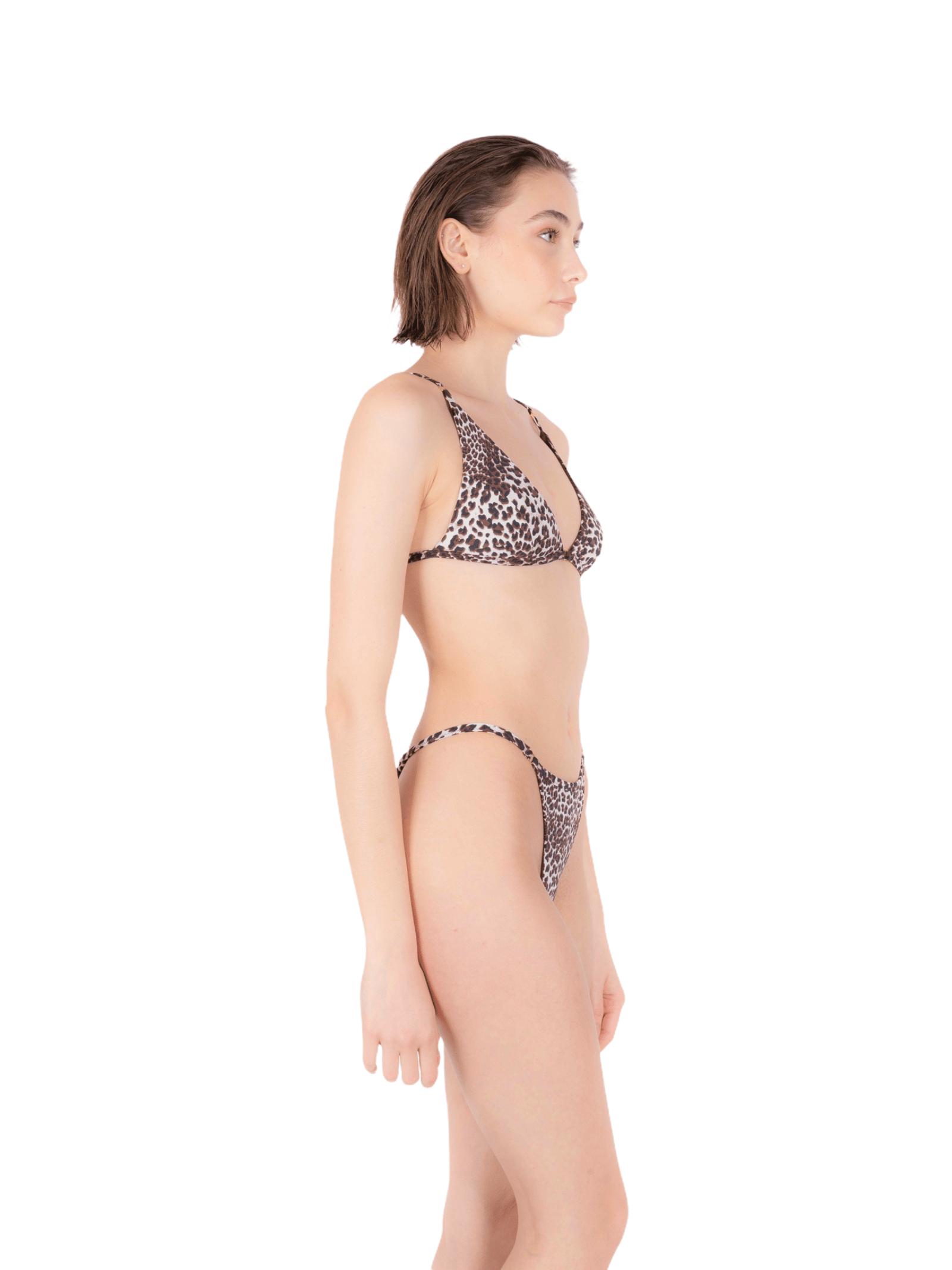 Bikini triangolo con slip tanga ANNAMARE | 23 | BK-103MARRONE