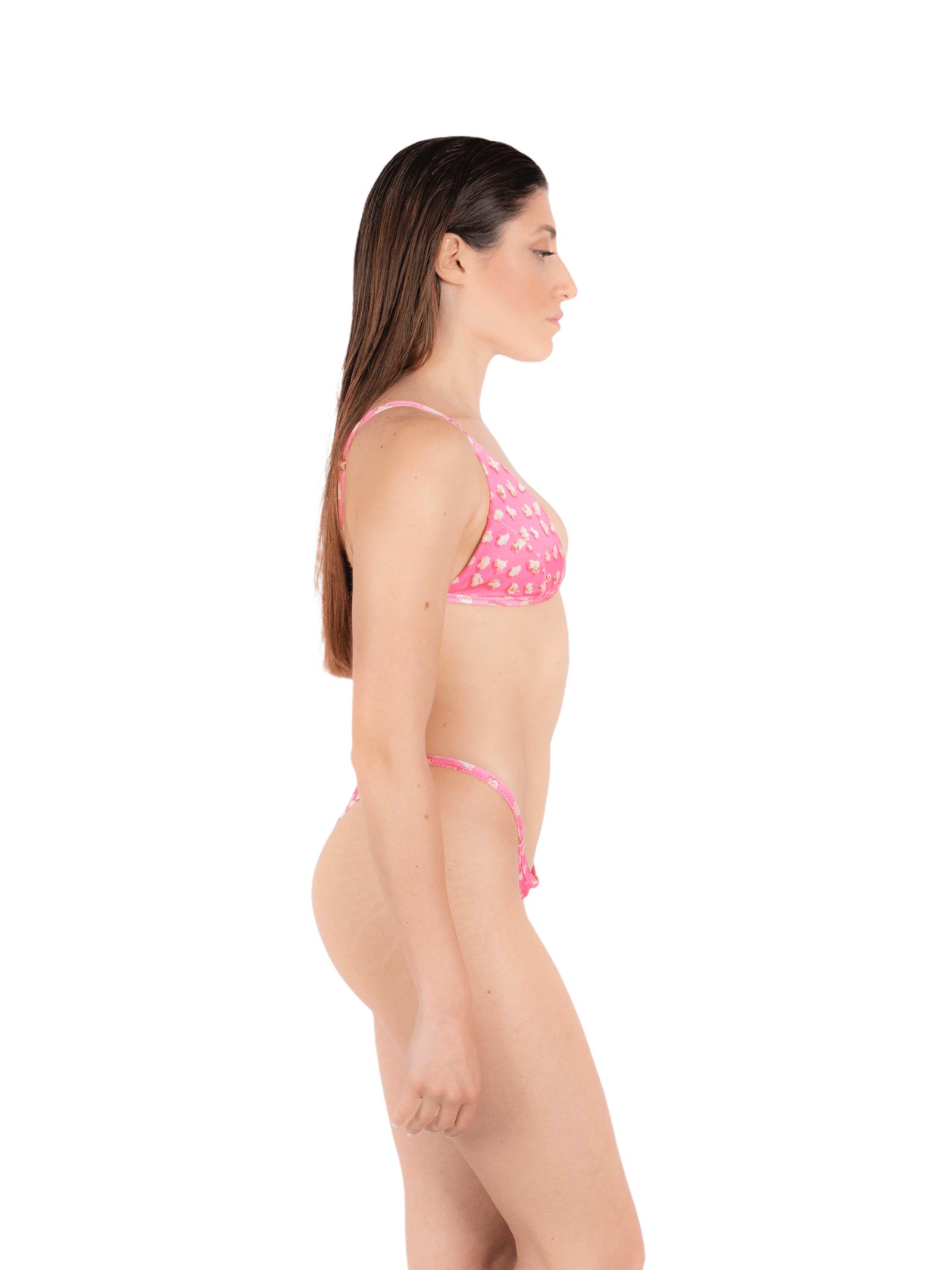 Triangle bikini with thong slip ANNAMARE | 23 | BK-103ROSA