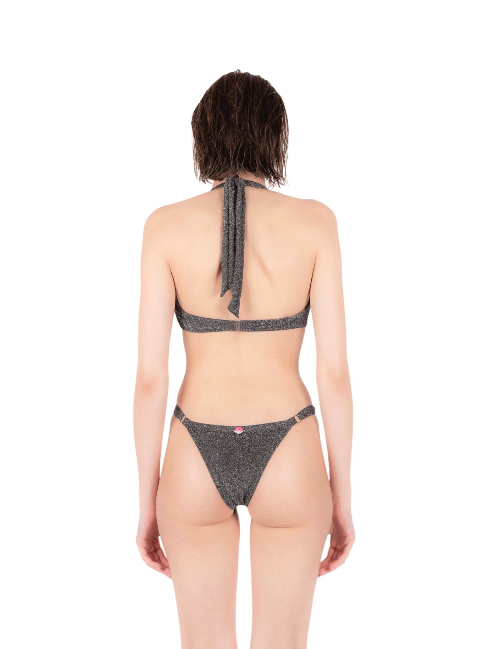 Bikini triangolo con slip regolabile ANNAMARE | 23 | BK-106NERO