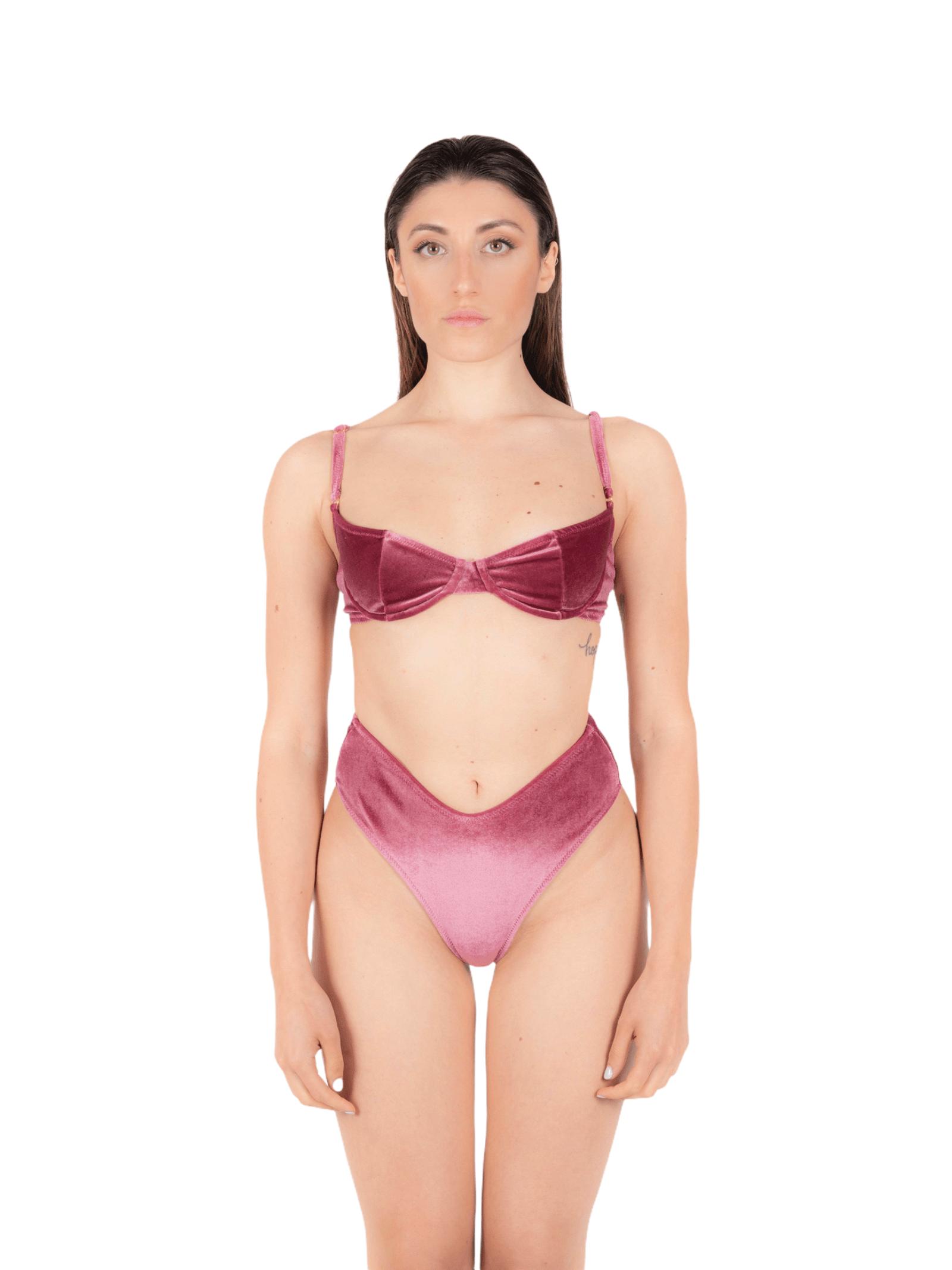 Bikini balconette with slip V ANNAMARE | 23 | BK-108ROSA