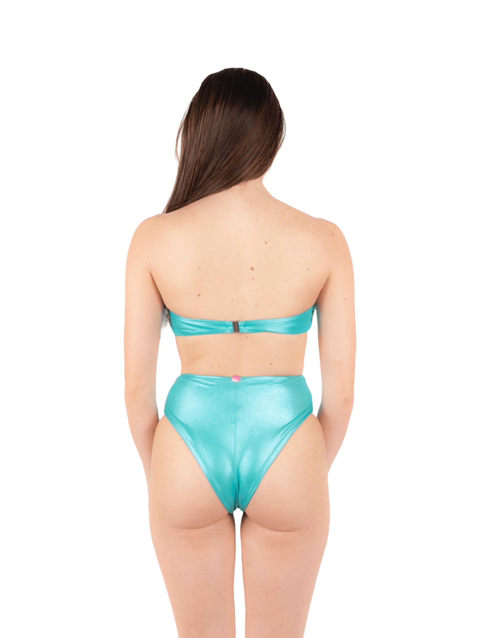Bikini fascia con slip alto ANNAMARE | 23 | BK-109VERDE