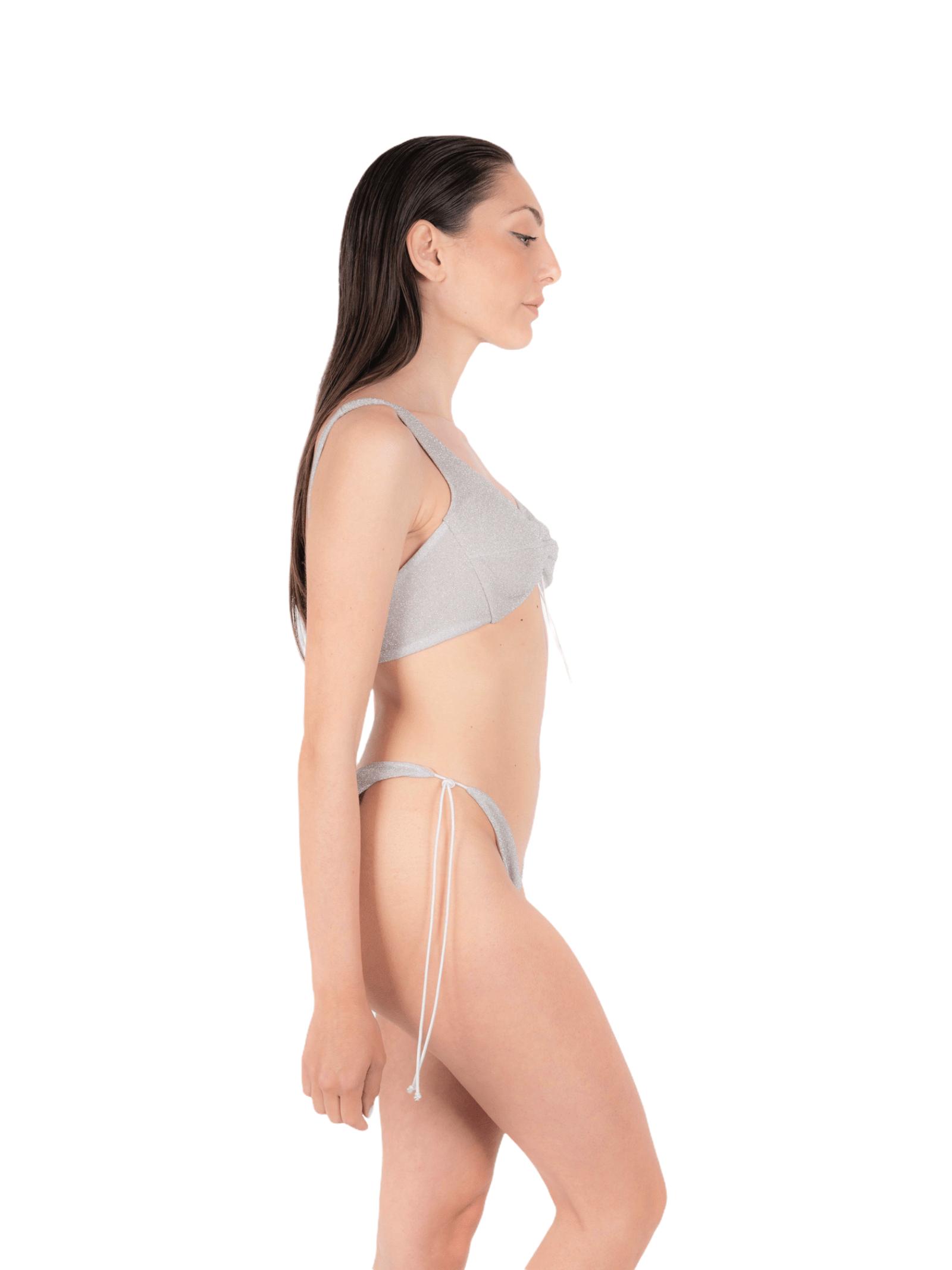 Bikini top with bow slip ANNAMARE   23   BK-110BIANCO