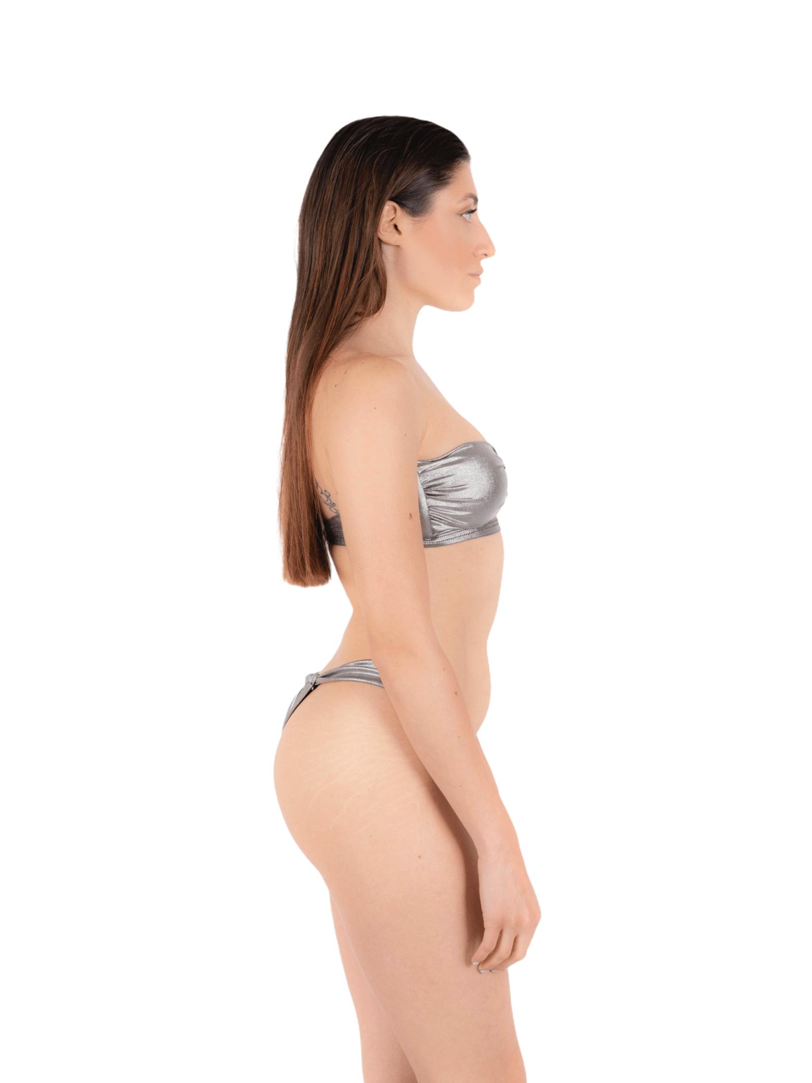 Bikini fascia con slip laccio ANNAMARE | 23 | BK-112GRIGIO