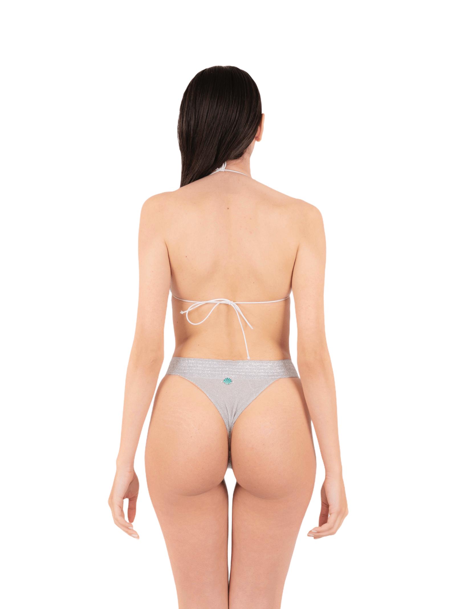 Bikini triangle with bandeau slip ANNAMARE | 23 | BK-113BIANCO