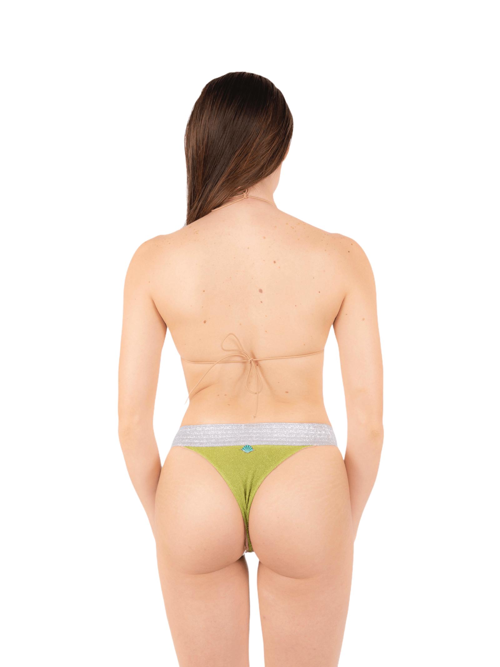 Bikini triangolo con slip fascia ANNAMARE | 23 | BK-113VERDE