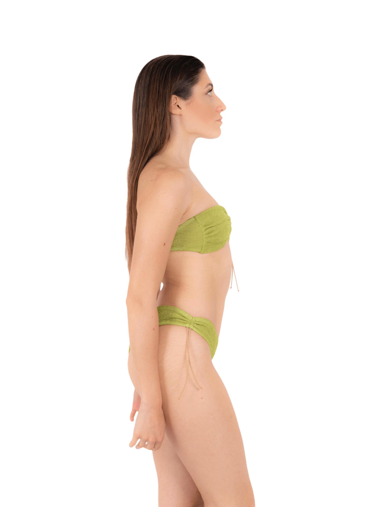 Bikini top with drawstring slip ANNAMARE | 23 | BK-114VERDE