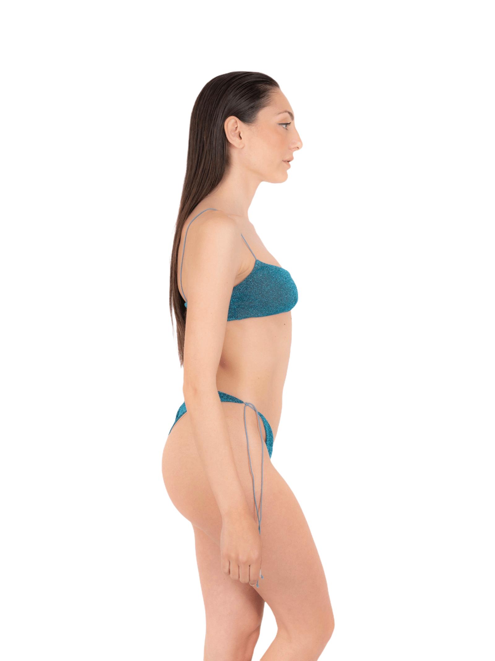 Bikini top with bow slip ANNAMARE | 23 | BK-115BLU