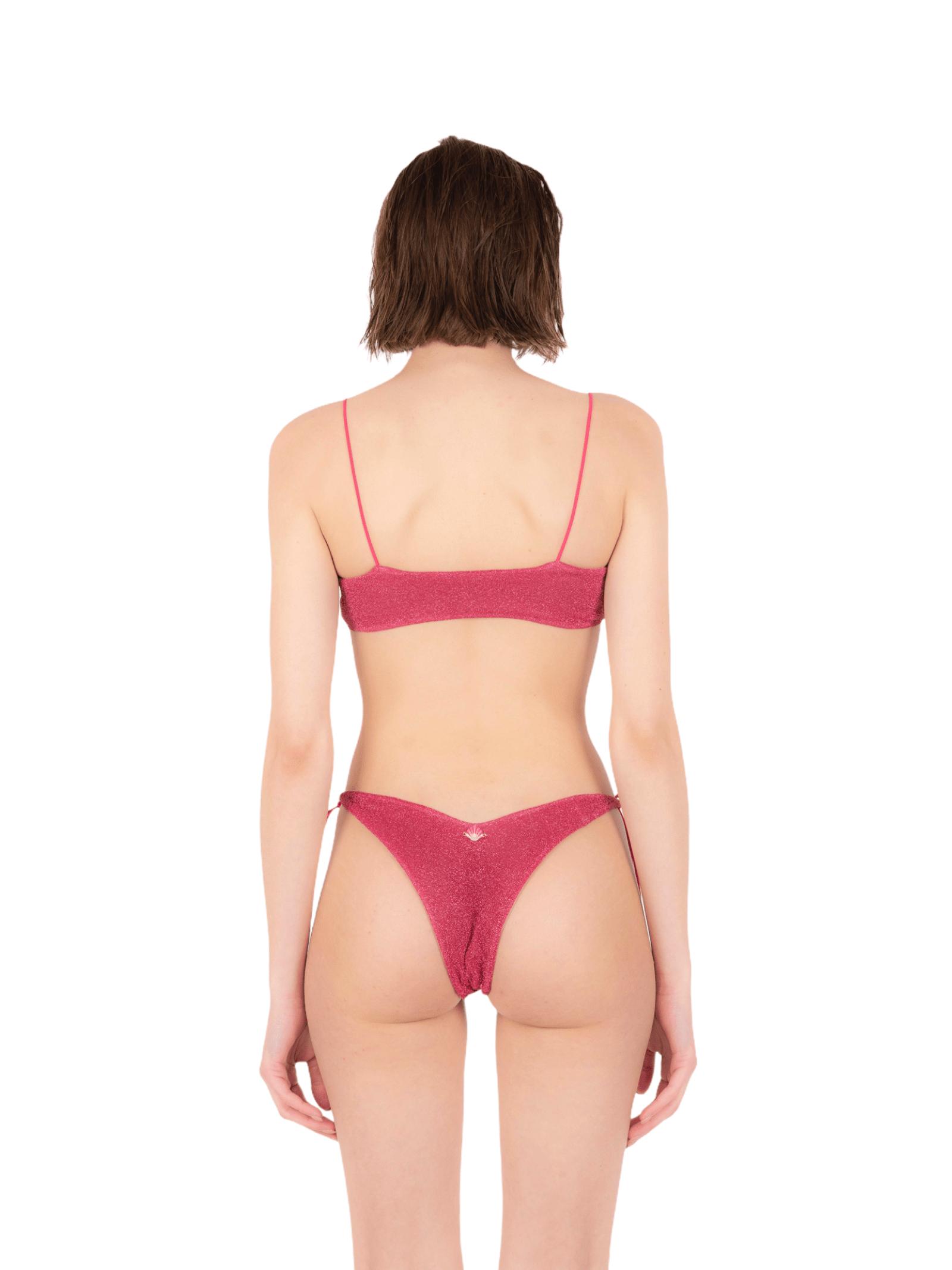 Bikini top with bow slip ANNAMARE | 23 | BK-115ROSA