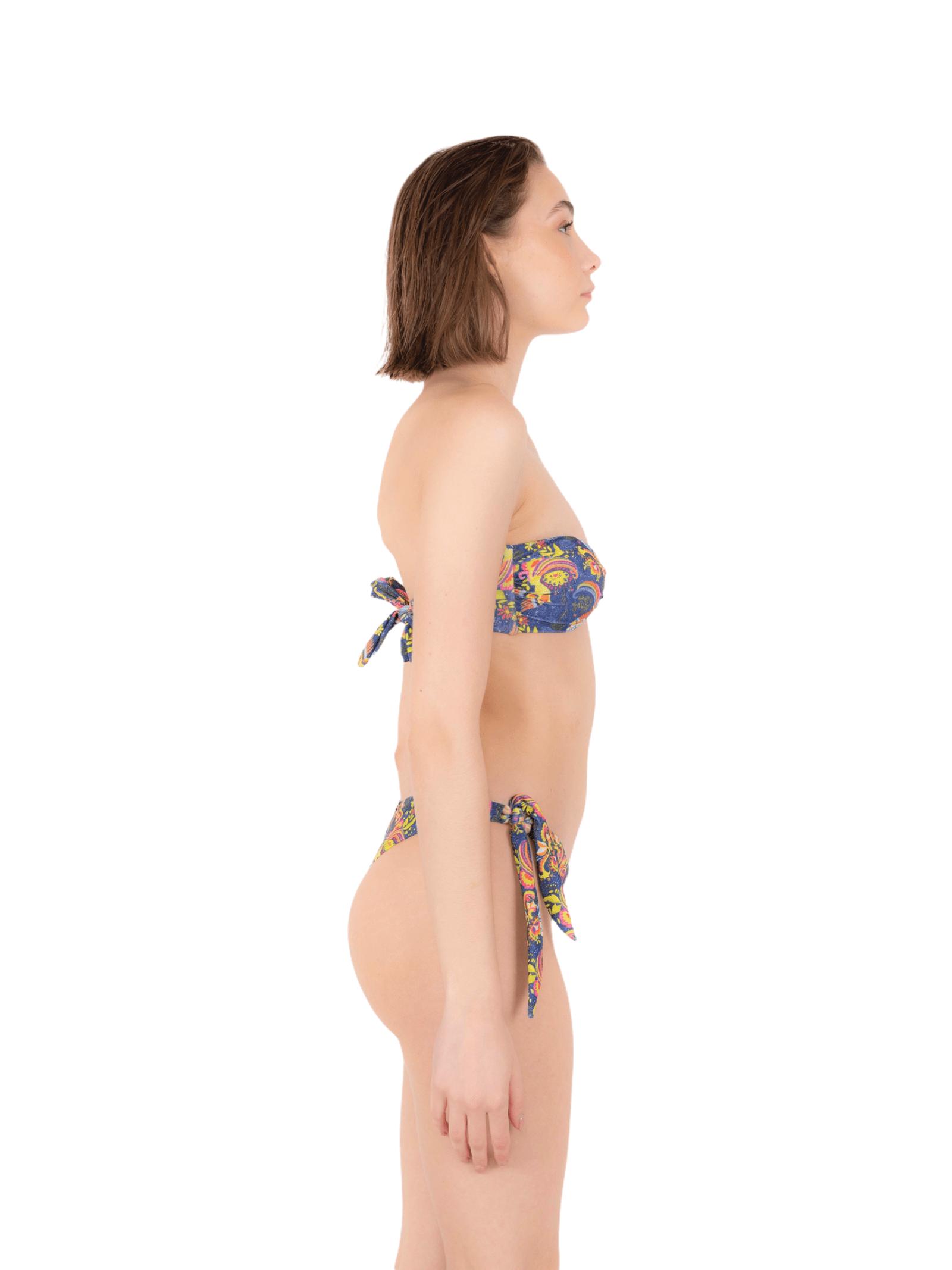 Bikini fascia con slip fiocco ANNAMARE | 23 | BK-116BLU