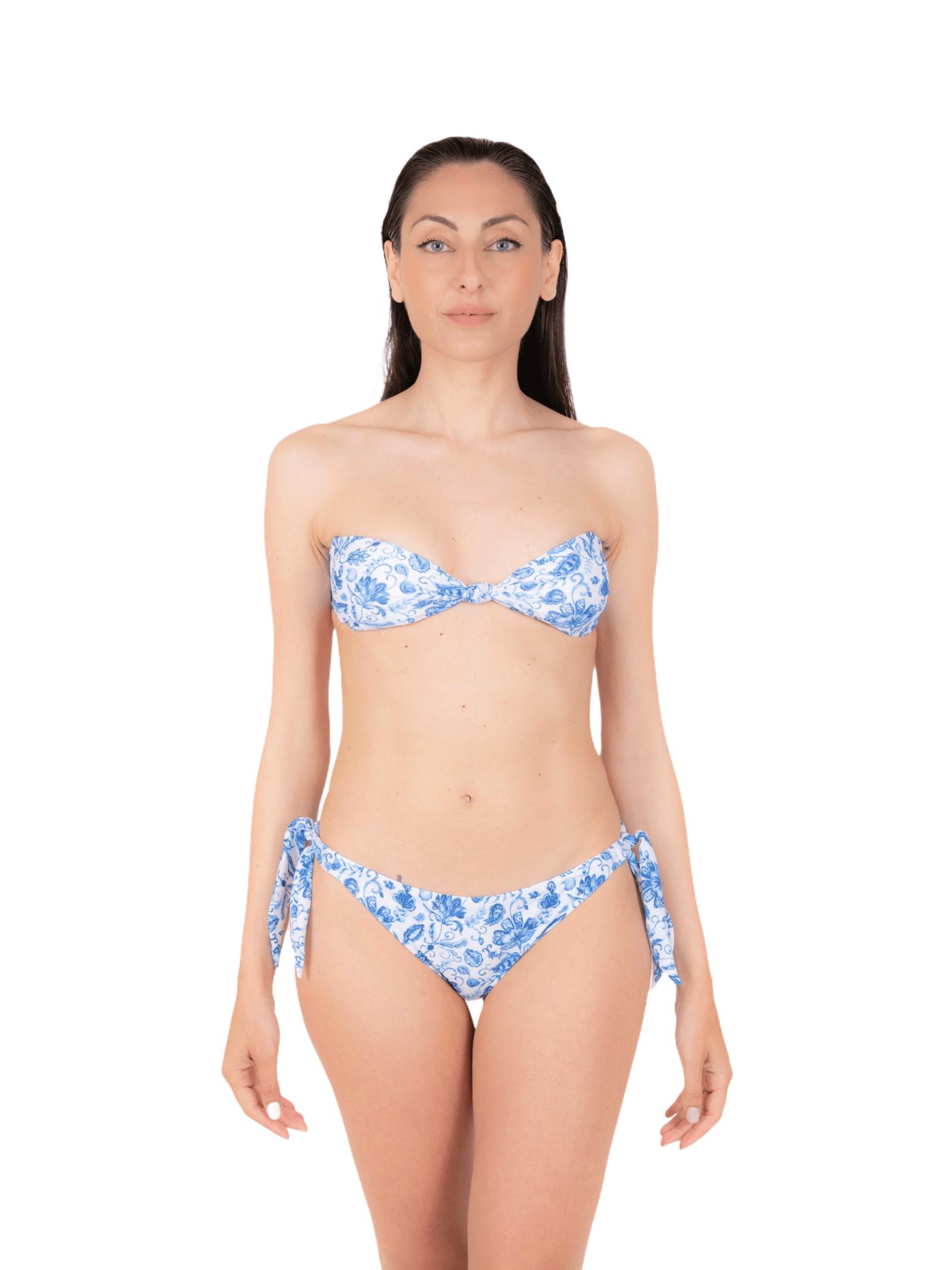 Bikini fascia con slip fiocco ANNAMARE   23   BK-116CELESTE