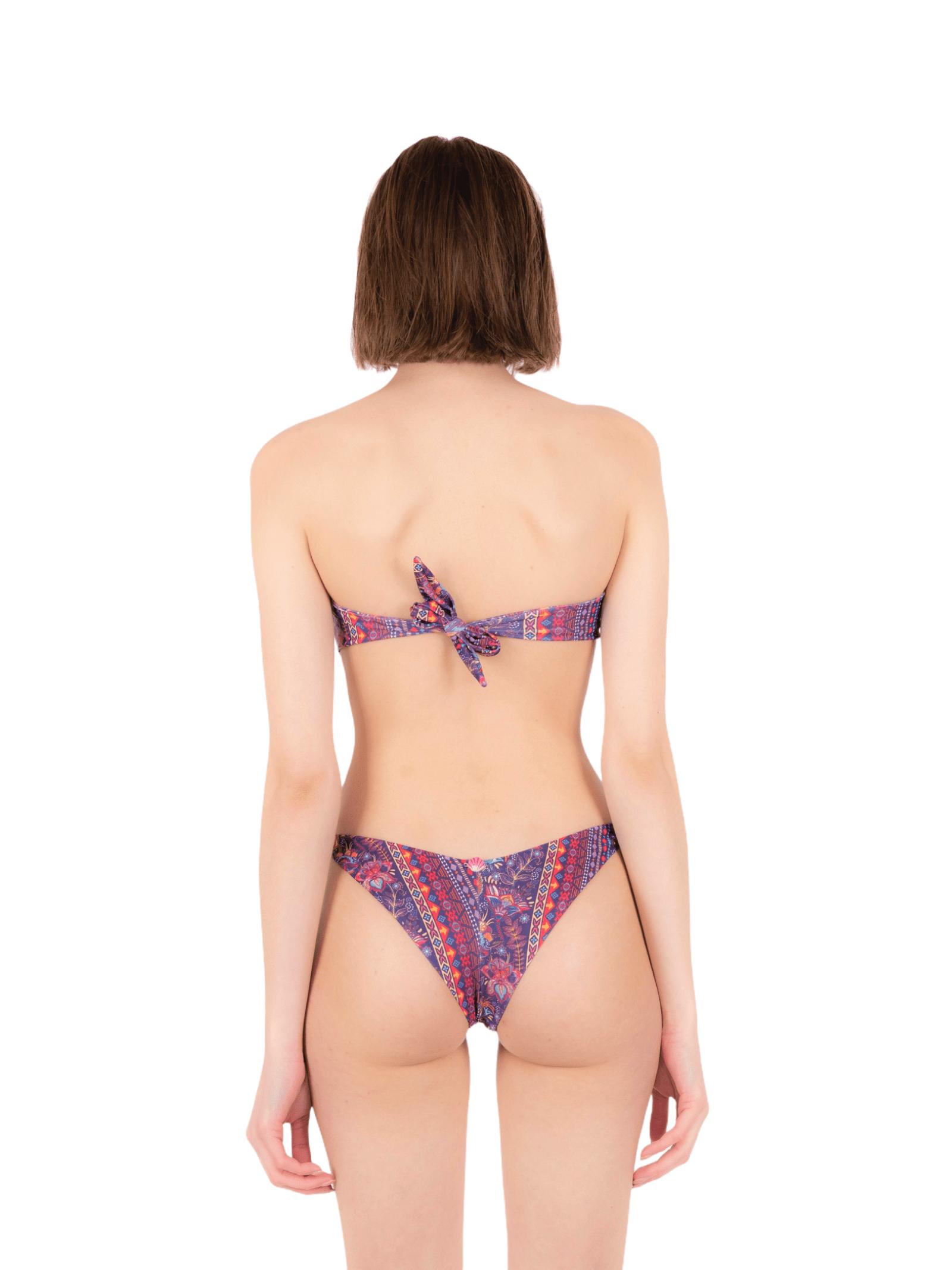 Bikini top with bow slip ANNAMARE   23   BK-116ROSA