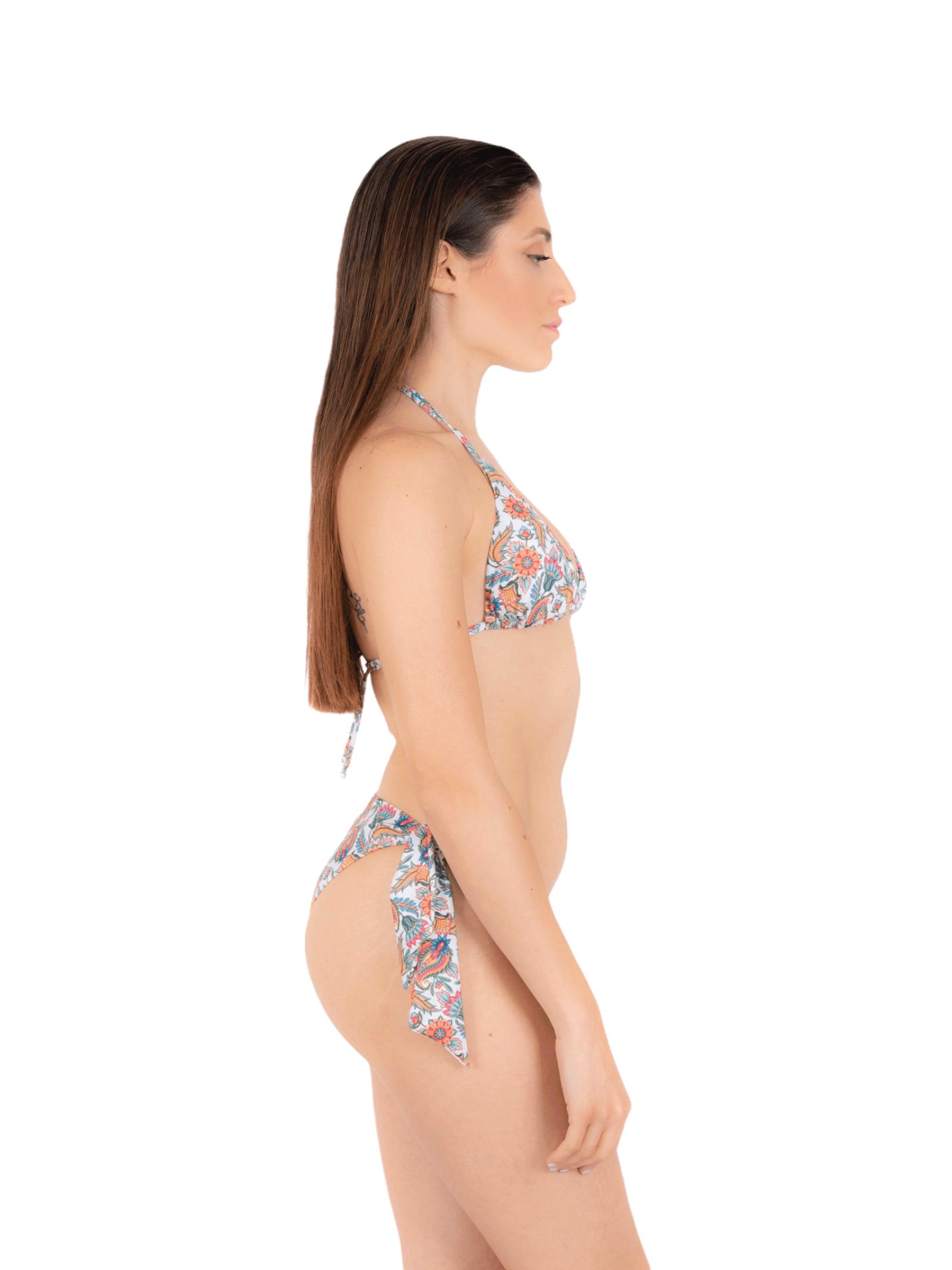 Bikini triangolo con slip fiocco ANNAMARE | 23 | BK-117BIANCO