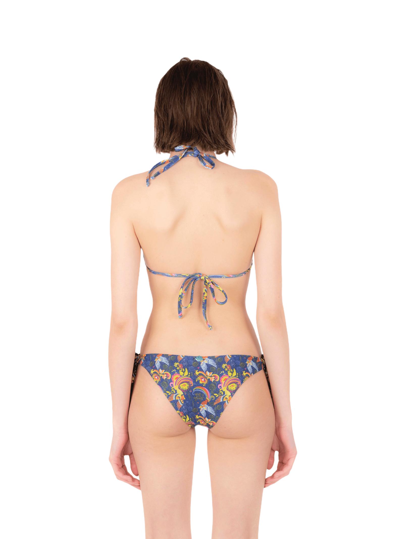 Bikini triangle with bow slip ANNAMARE | 23 | BK-117BLU