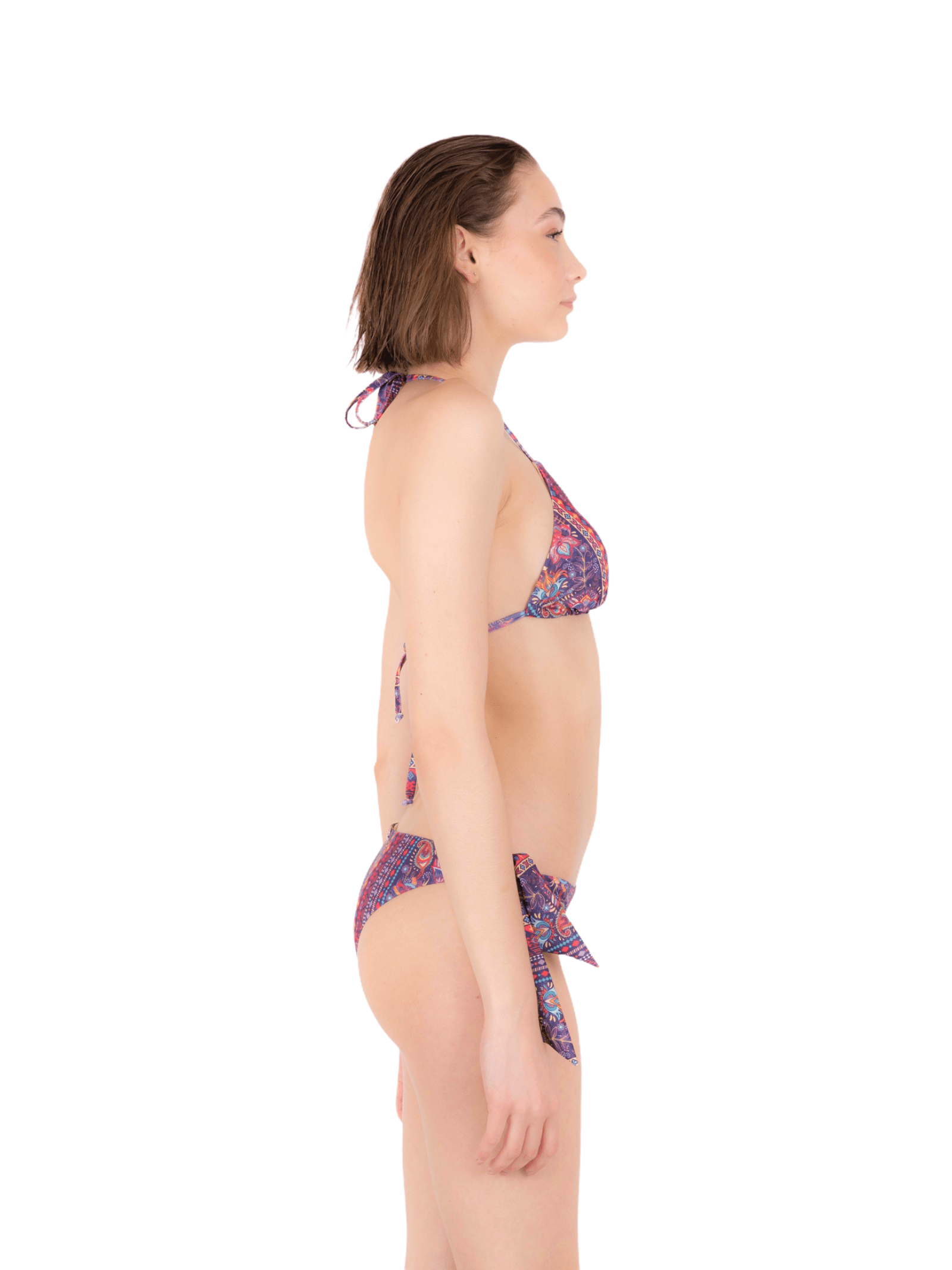 Bikini triangle with bow slip ANNAMARE | 23 | BK-117ROSA