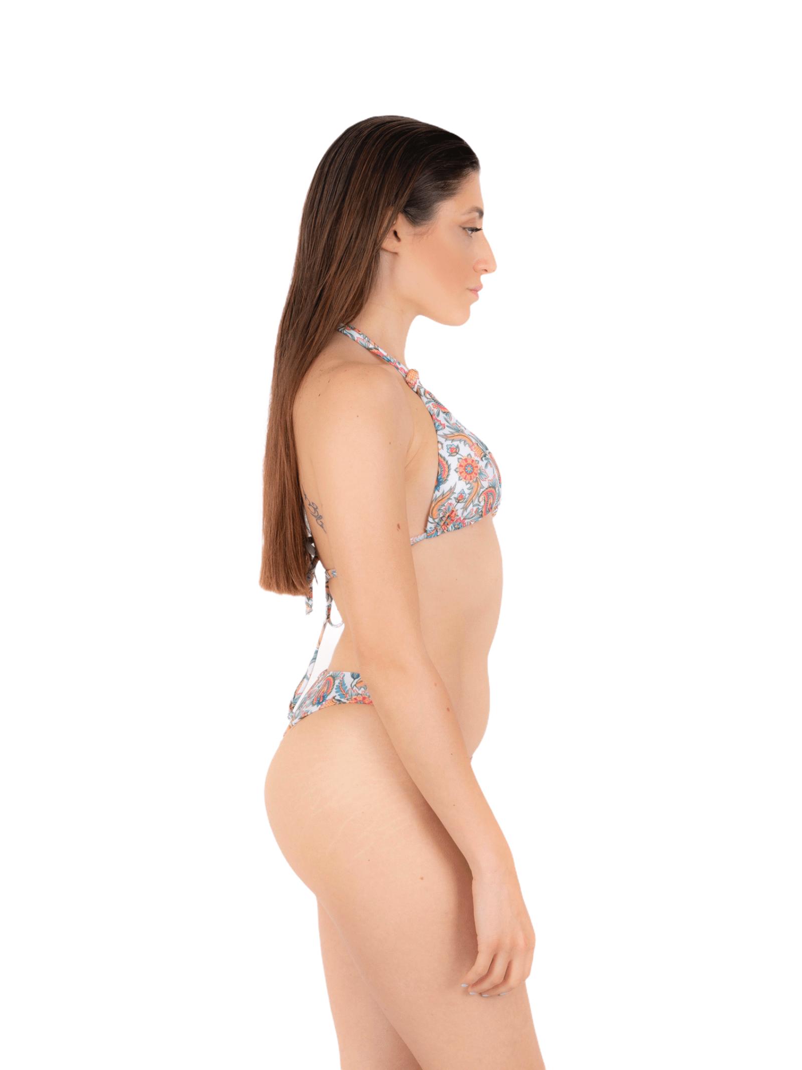 Bikini triangolo con slip nodo ANNAMARE | 23 | BK-119BIANCO