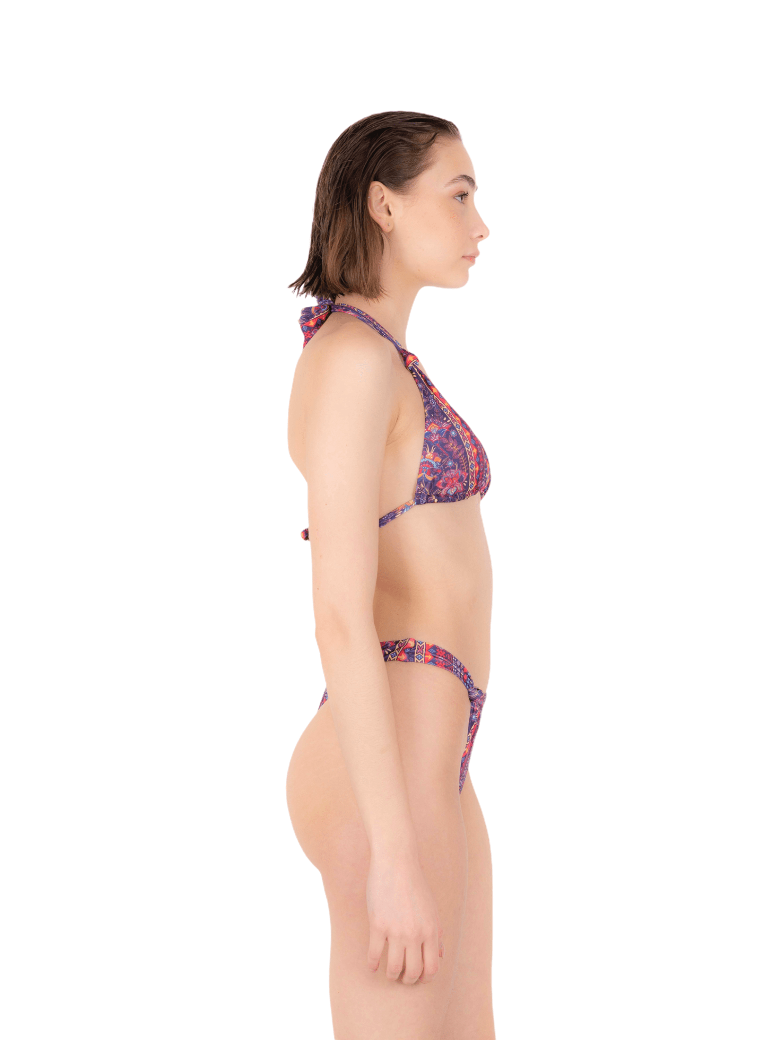 Bikini trianglei with knot slip ANNAMARE | 23 | BK-119ROSA