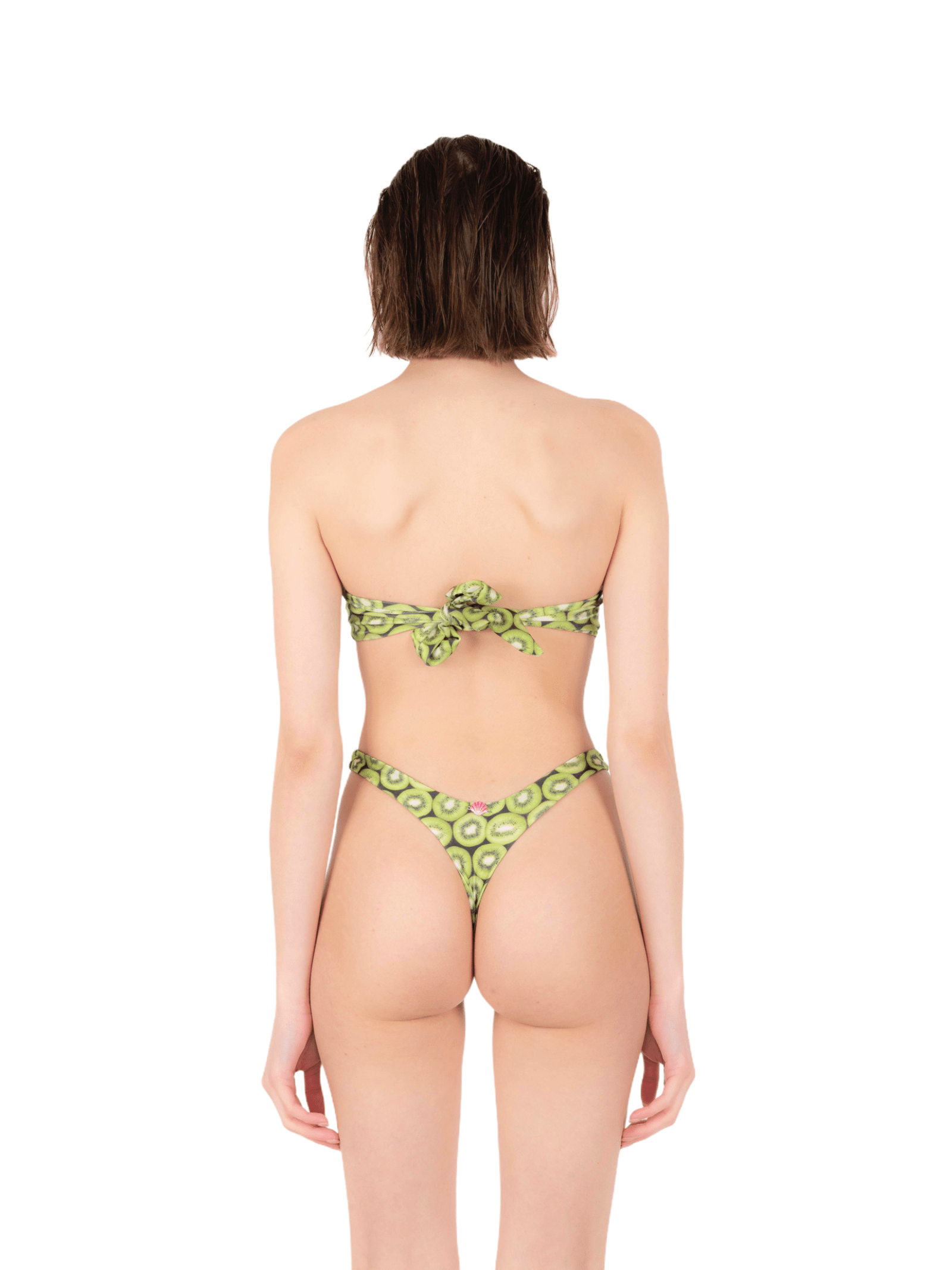 Bikini top shell with thong ANNAMARE | 23 | BK-120VERDE