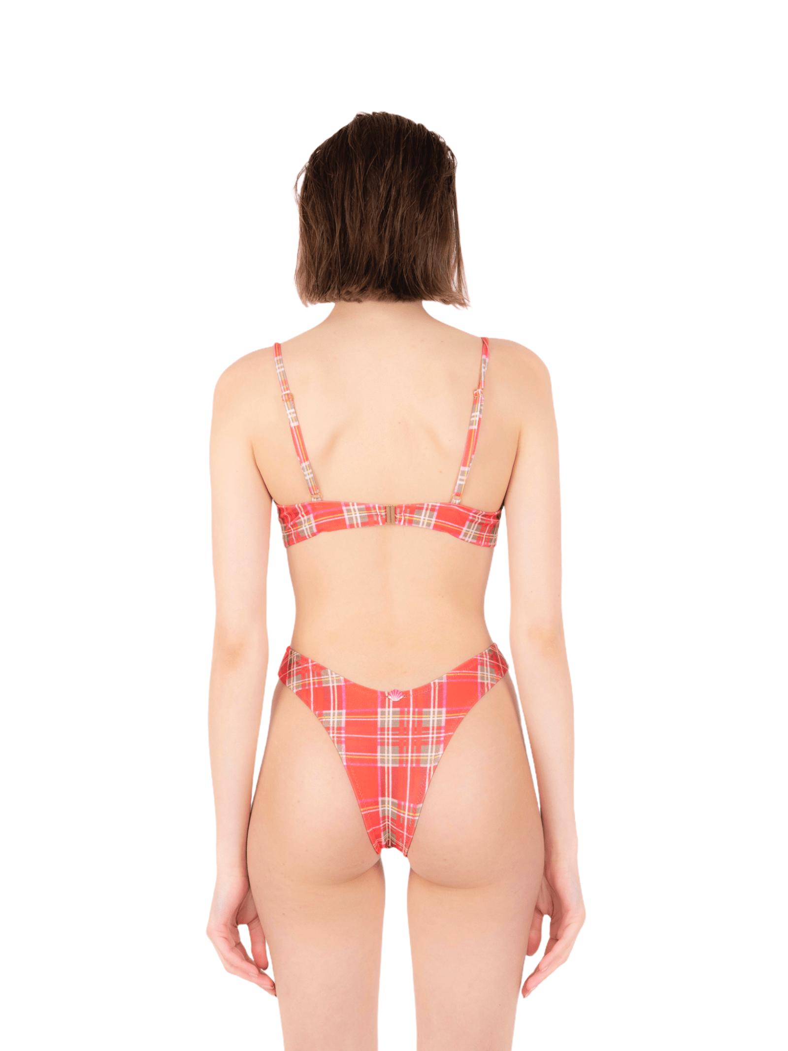 Bikini fascia fiocco con slip V ANNAMARE | 23 | BK-122ROSSO