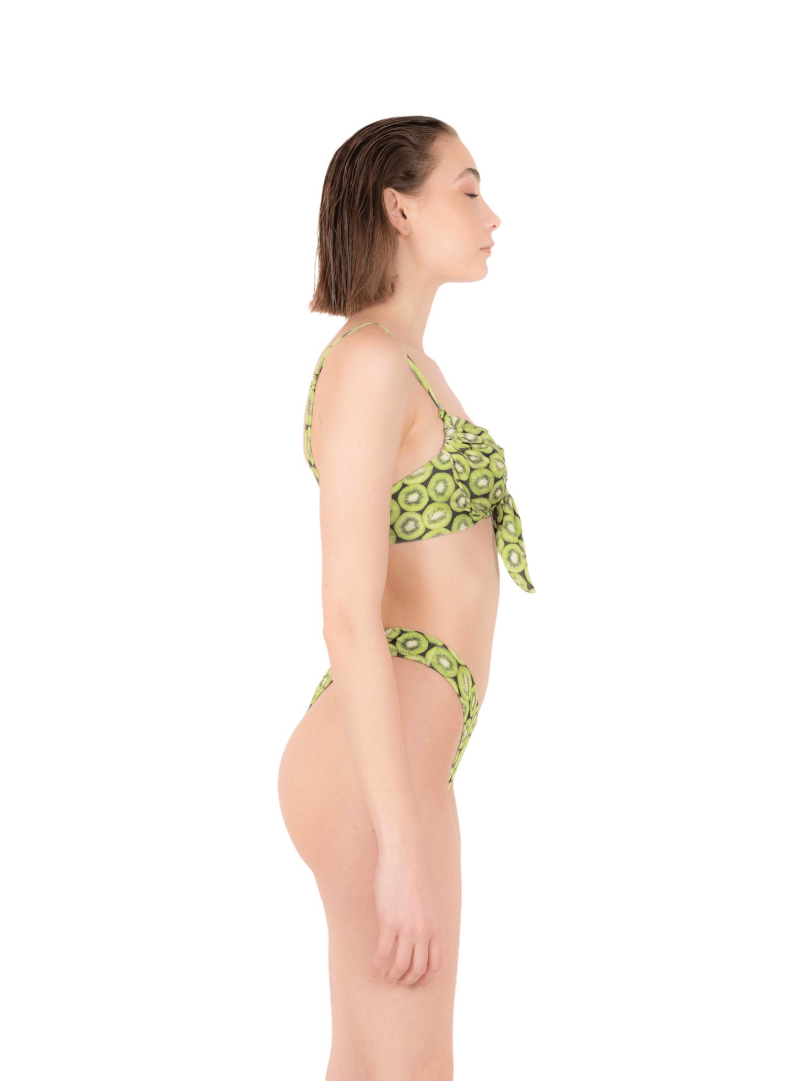 Bikini fascia fiocco con slip V ANNAMARE | 23 | BK-122VERDE