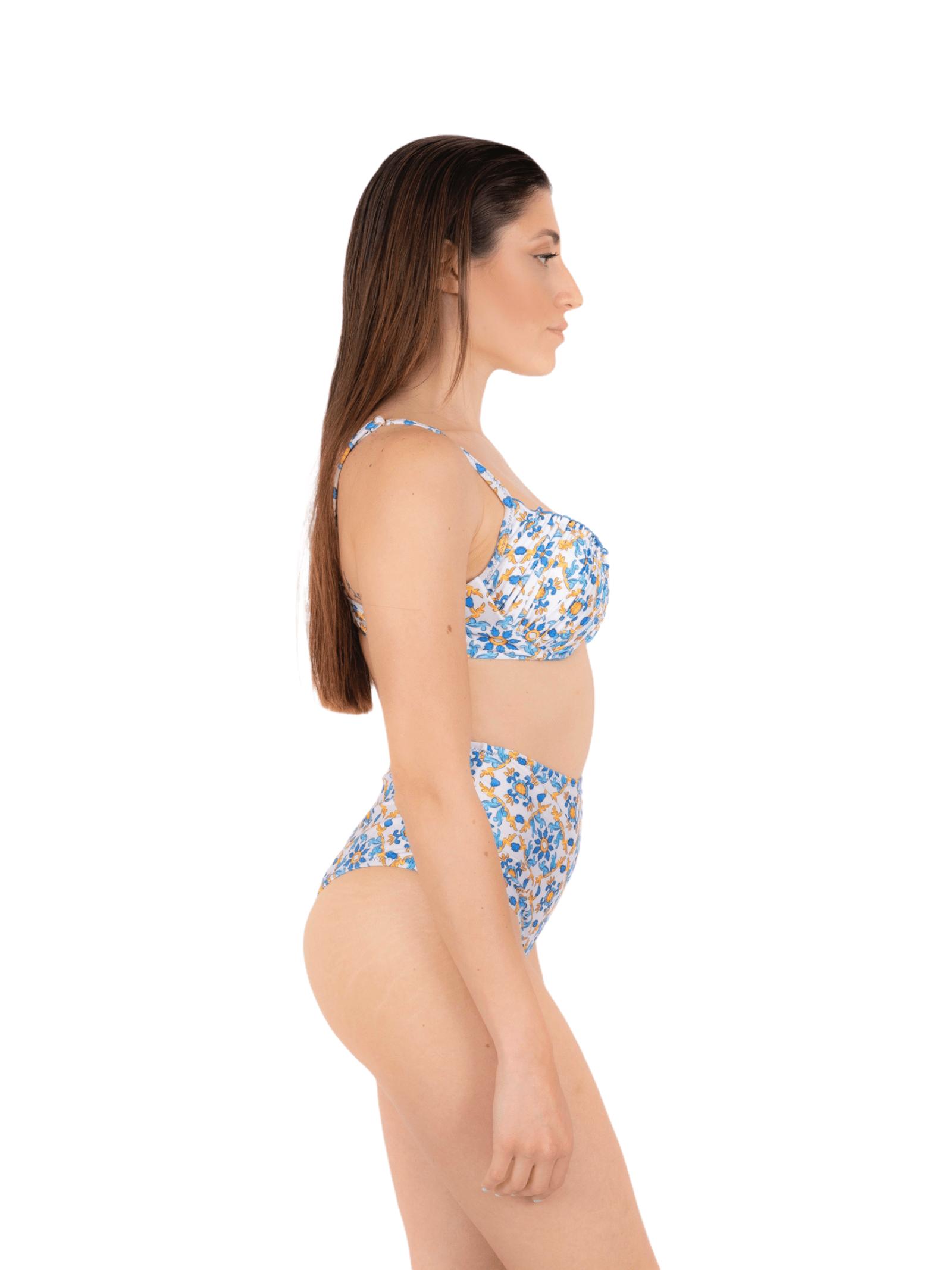 Bikini push-up with high slip ANNAMARE | 23 | BK-123BIANCO