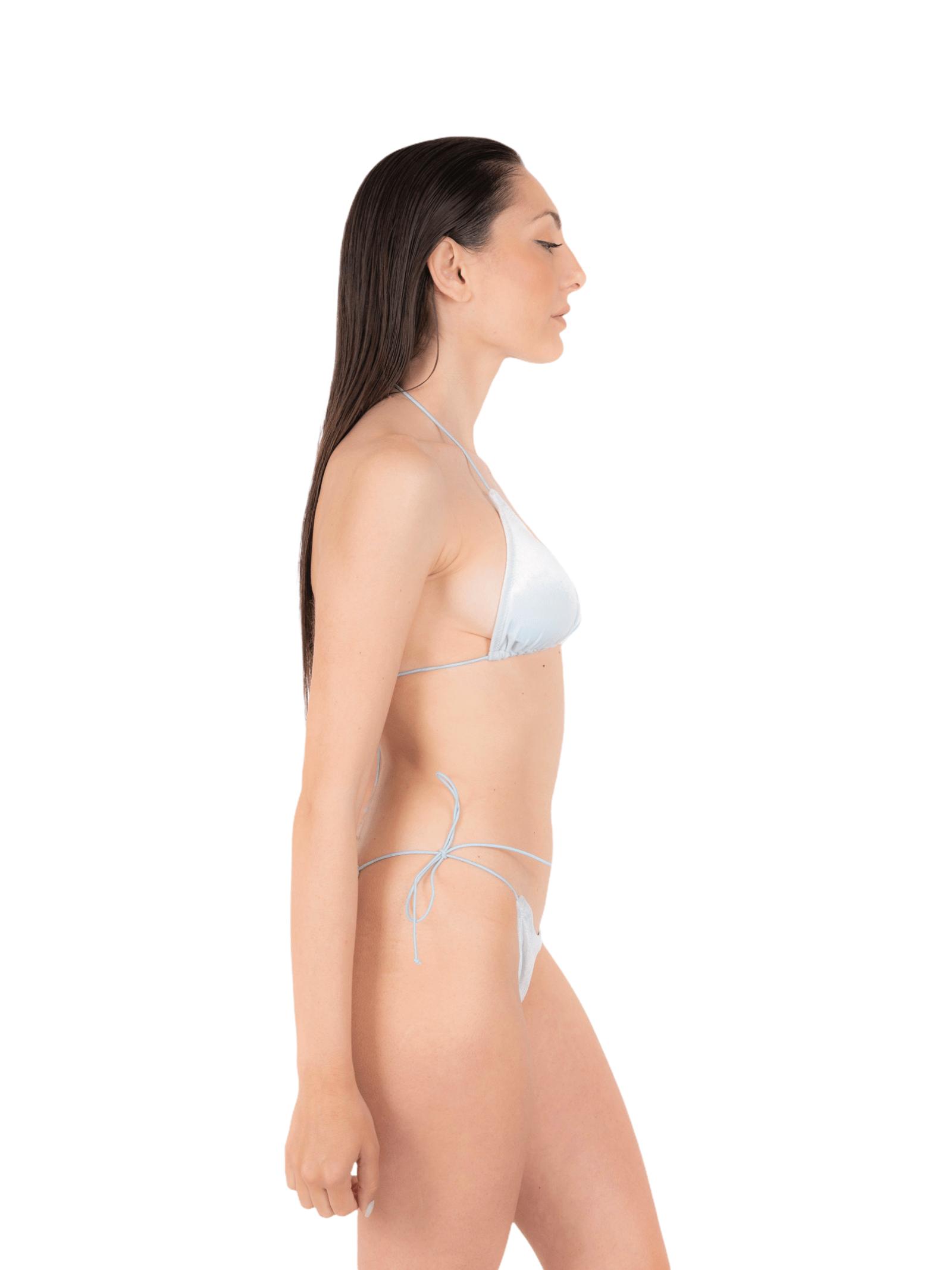 Bikini triangle with bow slip ANNAMARE | 23 | BK-124BIANCO